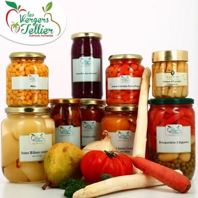 Fruits et Légumes en Bocaux